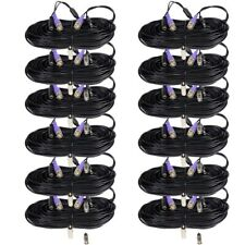 12 x 100 ft Cctv Hd Security Camera Video Power Extension Cable Bnc Rca Wire mc3