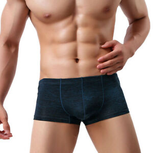 Sexy Mens Underwear Boxers Breathable Shorts Male Panties Men Trunks Underpants