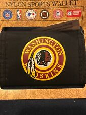 Vintage Washington Redskins Nylon Wallet NFL MIB Game Day F30