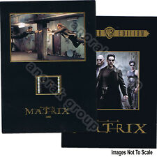 OFFICIAL Matrix Commemorative Booklet+Movie Film Cell Neo Agent Smith Keanu Hugo