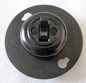 Vintage NOS Arrow Hart Hegeman AH&H Surface Mount Light Snap Switch