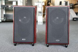 KEF XQ-10 Aussteller Mahagoni Lautsprecher Paar