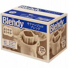 New! AGF Blendy Regular Drip Coffee Pack Kilimanjaro Blend 100cups Japan Import!