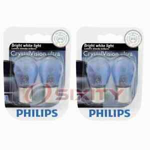 2 pc Philips Tail Light Bulbs for Volvo 940 C70 S60 S60 Cross Country V40 gr