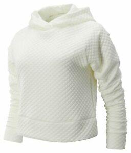 New Balance Women's NB Heat Loft Hoodie Off White