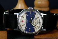 Pobeda Ocean Watch Military Vintage Mechanical Watch Mens ZIM watch Russian