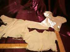 3 Pcs Vtg Baby/Doll Undergarment-button/tie/slip over tops-free ship