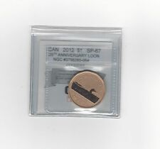 *2012 25th Anniv of the Loon*Coin Mart Graded Canadian, Loon Dollar,*SP-67*