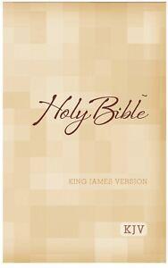 Holy Bible King James Version large print