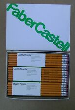 72 Vintage Faber Castell Wood Pencils Lot of 72 (6 Doz) No.2.5 NOS US Made