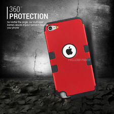 For iPod Touch 6 5 Case Heavy Armor Duty Full Protective Cover Case Triple Layer