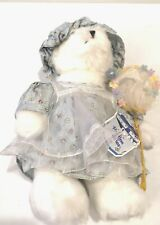 Avon Hatbox Teddies With Tag, Buttercup