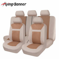 universal Car Seat Covers protectors washable  beige classic polyester