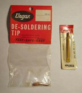 NOS Tips for Ungar Soldering Iron #4045 - #PL833 & #862