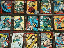 DOOMSDAY 'The Death Of Superman' Complete Base Set Of 100 Trading Cards & Promos