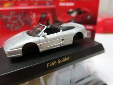 Kyosho - Ferrari Minicar Collection 5 - F355 Spider - Silver - 1/64 - Mini Car