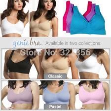 GENUINE Genie Bra slimming shaper shapewear Yoga Sport 3 colors/lot with pads