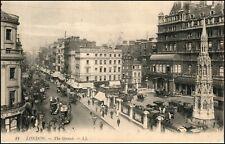The Strand Eleanor Cross, Lipton Tea, Chapple & Mantell Building London England
