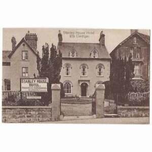 CARDIGAN Stanley House Hotel, Pendre, Cardiganshire Postcard Unused