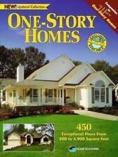 One-Story Homes: Over 450 Designs for Single-Level Living-ExLibrary