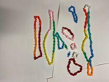 Vintage 70s Snap Beads Craft Item Necklace Bracelets