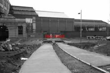 PHOTO  1990 METROLINK CONSTRUCTION MANCHESTER VICTORIA SIDE ENTRANCE THE CONCRET