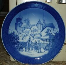 """Royal Copenhagen 1997 Roskilde Cathedral Plate - 7 1/8"""""""