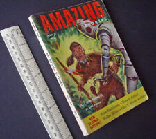 Amazing Stories US SF Digest 1954 V28#1. Eric Frank Russell, Fred Brown.