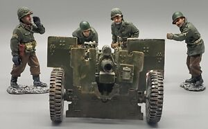 !!READY TO SHIP!! T2009 King & COUNTRY BASTOGNE BBA031 105 FIELD GUN WITH 4 CREW