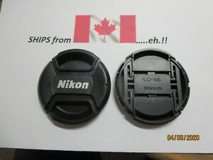 Tapa objetivamente anverso 55mm para Nikon AF-P DX Nikkor 18-55 mm 1:3.5-5.6g VR