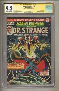 Marvel Premiere 14 (CGC Signature Series 9.2) OW/W Pages; Frank Brunner! (j 200)