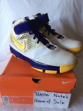 Nike Kobe 2007 Zoom II 'Lakers Home', Size 11, Pre-worn (by me only)
