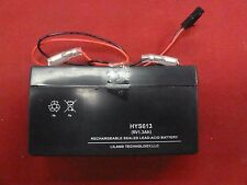 New Elcotel 6V 1.3 Ah Lead Acid Battery for Payphones Payphone Pay Phone 6 Volt