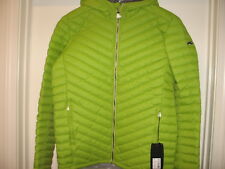 KJUS Blackcomb Hooded Down Jacket  800 Fill Power (For Men).Green.M.NWT.