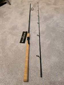 SHIMANO SCIMITAR SPINNING FISH ROD 2 PIECE SMS70ML2B 7' 4-10LB 1/16-5/16OZ FAST