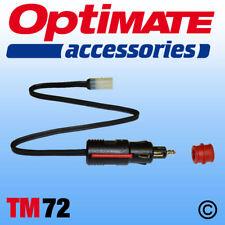 OptiMate / AccuMate Cig / DIN Plug Lead (TM72) UK Supplier & Warranty NEW