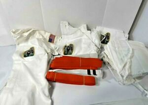 Lot of Assorted Karate Gi and Belts