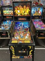 STERN FAMILY GUY PINBALL MACHINE 2007 LEDS WORKED ON BY PROFESSIONAL TECHS
