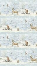 Northcott Enchanted Forest FLANNEL by Hilltop Designs F22302 41 Repeating Stripe