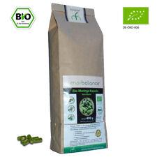 Bio-Moringa Kapseln NACHFÜLLPACK, 400 g = ca 830 Kapseln, TOPPREIS 13,75 €/100 g