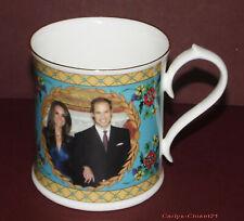AYNSLEY Fine Bone China * Prince William & Kate Middleton Rare Engagment Mug *