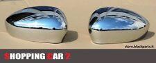 COPPIA CALOTTE COPPE SPECCHIO FIAT 500 2007 07> + ABARTH CROMATE