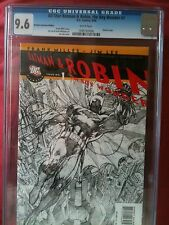 ALL STAR BATMAN & ROBIN  # 1 CGC 9.6 RETAILER JIM LEE SKETCH  RRP  EDITION
