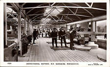 Portsmouth. Instructional Battery, R.N. Barracks # 47509 by Gale & Polden.