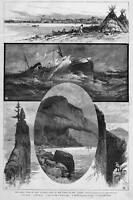 LAKE SUPERIOR NORTH SHORE SHIPWRECK ALGOMA SANTA CLAUS ISLAND THUNDER CAPE