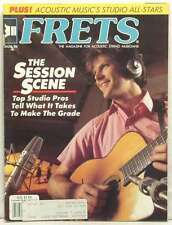 FRETS MAGAZINE THE SESSION SCENE CHET ATKINS MIKE SEEGER ALAN MUNDE DAN CARY '86