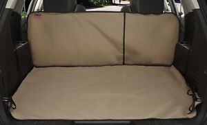 Vehicle Custom Cargo Area Liner Tan Fits 1999-2003 Isuzu Rodeo LS, LSE, S, S V6