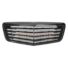Front Grille For Mercedes Benz W211 E-Class E320 E350 E550 E63 07-09 silver