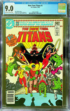 New Teen Titans #1 (Nov 1980, DC) CGC 9.0