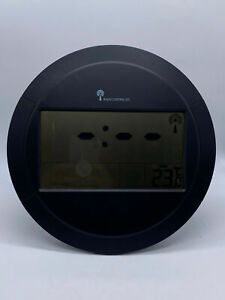 Large Round Face Radio Controlled Digital Wall Clock